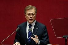 Presidente sul-coreano convida Coreia do Norte para os Jogos Olímpicos de inverno