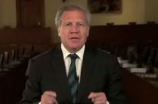 Luís Almagro diz que deixaria o cargo em troca pela liberdade da Venezuela