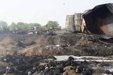 Pelo menos 153 mortos em explosão de camião cisterna no Paquistão
