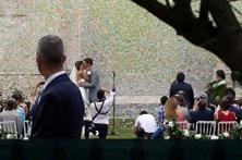 Veja as primeiras imagens do casamento de Andreia Rodrigues e Daniel Oliveira