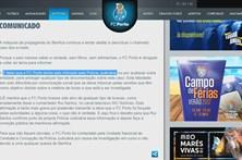 FC Porto volta a reagir à polémica dos emails