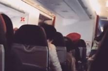 Turbulência leva piloto a pedir aos passageiros para rezar