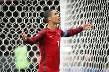 Loucura por Cristiano Ronaldo no apoio a Portugal