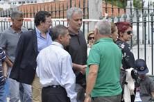 As últimas homenagens a Félix Mourinho