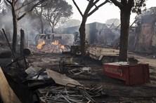 Incêndio em parque natural de Espanha deixa rasto de destruição