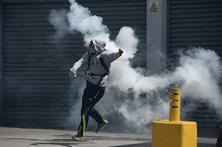 População bloqueou Caracas durante quatro horas