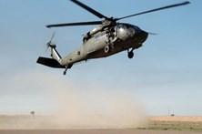 Ministro vestiu colete anti-bala e viajou em helicópteros americanos no Iraque