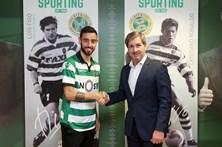 Bruno Fernandes confessa que jamais poderia dizer não ao Sporting