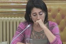 Ministra da Administração Interna emociona-se ao falar da tragédia de Pedrógão