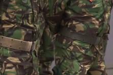 Granadas e munições roubadas ao Exército