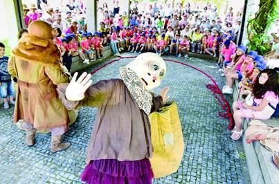 Marionetas e fantoches dão espetáculo em Fafe