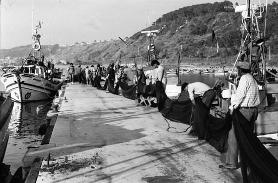 Quando a Nazaré era uma pitoresca vila de pescadores