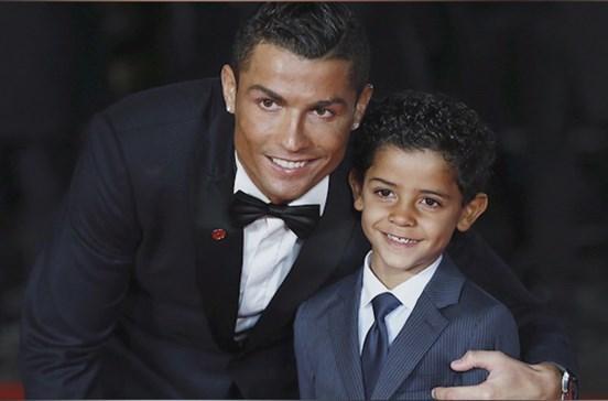 Gémeos de Cristiano Ronaldo com segurança máxima