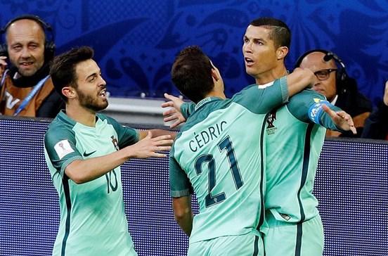Portugal defronta Chile nas meias-finais da Taça das Confederações