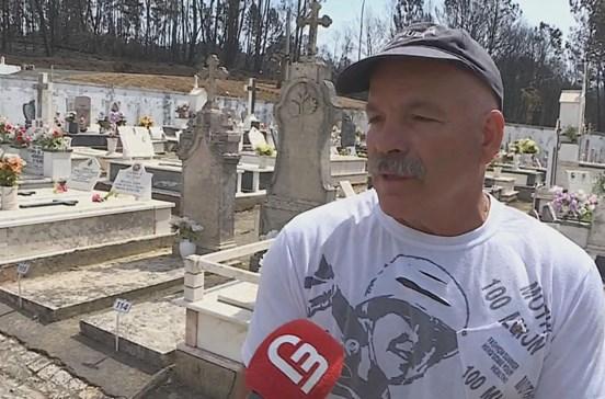 'Xico da Junta' enterrou 40 vítimas do fogo