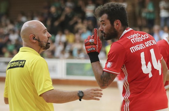 Benfica em protesto não vai à final da Taça de hóquei em patins