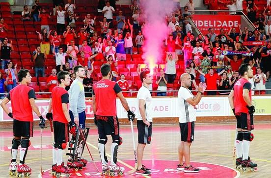Benfica cumpriu boicote à final da Taça de Portugal de Hóquei em Patins