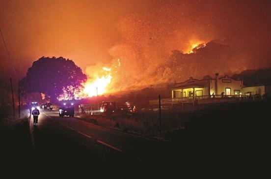 Tribunal quer prejuízos pagos por incendiário