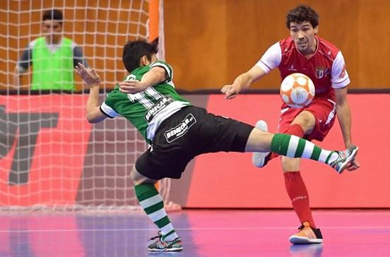 Sporting sagra-se bicampeão de futsal