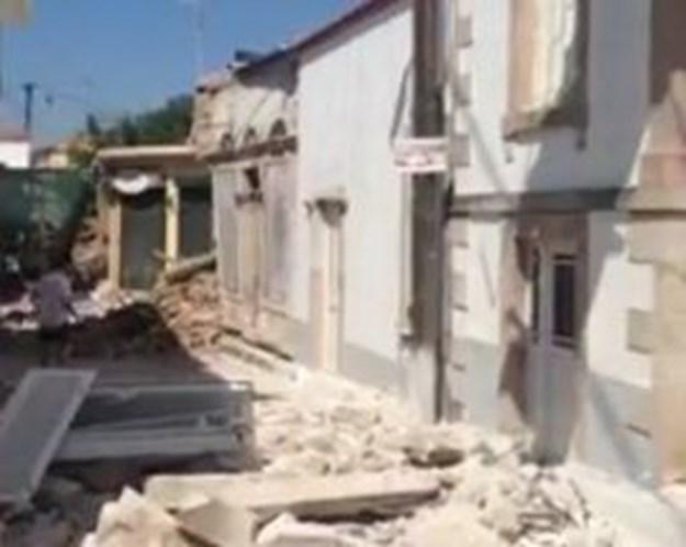 Sismo fez um morto na ilha grega de Lesbos