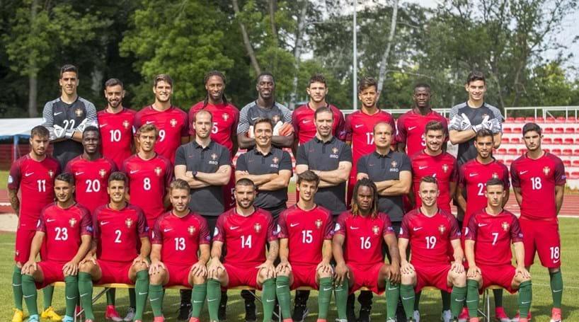 Portugal estreia-se com triunfo por 2-0 face à Sérvia no Euro Sub-21