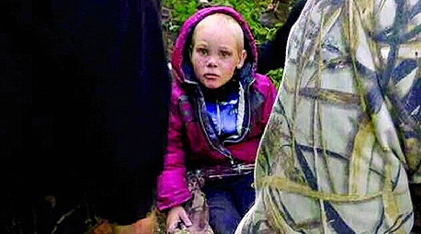 Menino russo sobrevive cinco dias na floresta