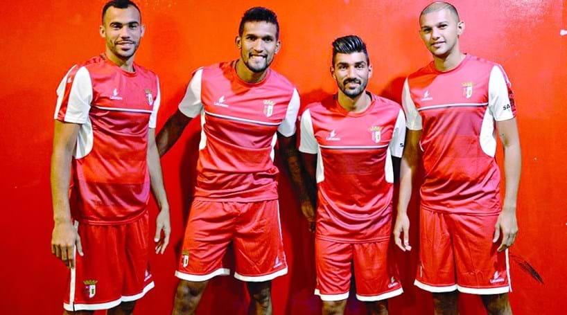 Sporting Braga com seis reforços no arranque da época