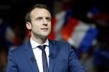 Macron diz que França e EUA vão trabalhar num roteiro pós-guerra para a Síria