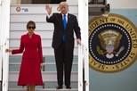Donald Trump chega a Paris com grande aparato de segurança