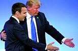 Trump na festa do Dia Nacional de França