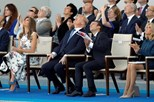 """Macron agradece apoio dos EUA na I Guerra, diz que """"nada separará"""" os dois países"""