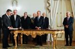 Presidente da República deu posse a oito novos secretários de Estado