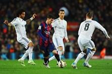 Clássico Real Madrid-FC Barcelona agendado para 20 de dezembro