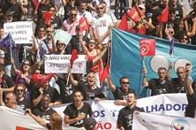 Trabalhadores da PT na rua contra a Altice
