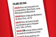 Cronologia do dia em que Pinto da Costa sofreu uma queda
