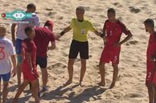 Portugal vence Rússia por 3-1 no Mundialito de Futebol de Praia