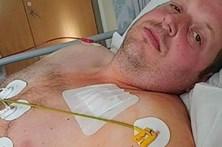 Homem sobrevive a seis ataques cardíacos no mesmo dia