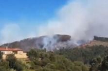 Proteção Civil diz que incêndio em Coimbra não ameaça habitações