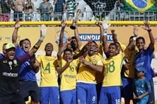 Portugal falha sexto título no Mundialito de futebol de praia