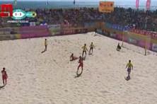 Brasil vence Portugal por 6-4 e conquista Mundialito de Futebol de Praia