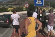 Incêndio em Coimbra assusta população