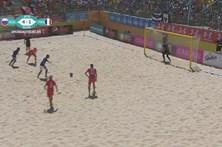 Rússia vence França por 5-2 no Mundialito de Futebol de Praia