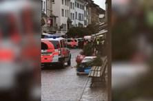 Polícia suíça deteve autor de ataque com motosserra que feriu cinco pessoas