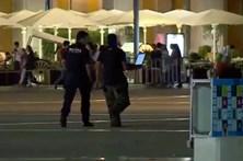 Polícia faz explodir mochila suspeita encontrada no Terreiro do Paço