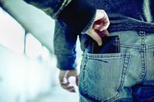 Detidos cinco carteiristas em flagrante