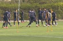 FC Porto continua no Algarve no estágio de pré-época