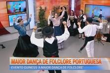 Maior dança de folclore portuguesa