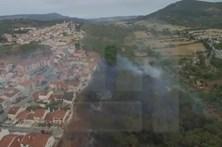 Drone da CMTV mostra destruição do incêndio em Setúbal