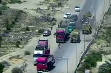 Tanque egípcio interceta carro-bomba conduzido por terroristas