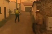 GNR verifica casas em Gardete para garantir que ninguém fica para trás